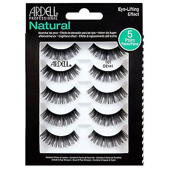 Ardell Natural Reusable Eyelashes Multipack - 101 Demi Lashes - 5 Pairs