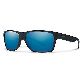 Aurinkolasit Unisex Wolcott polarisoimatta musta/sininen