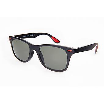 Sonnenbrille Unisex  Wayfarer   grün/schwarz (20-181)