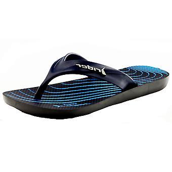 Rider Kids Strike Graphics Boys Flip Flops / Sandals - Navy
