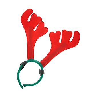 ShowQuest Christmas Antlers With Hoop And Loop Attachment For Horses