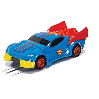 Micro Scalextric - Justice League Superman Bil