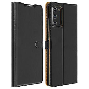 Case for Galaxy Note 20 Card Holder Support Soft Touch Bigben - Black
