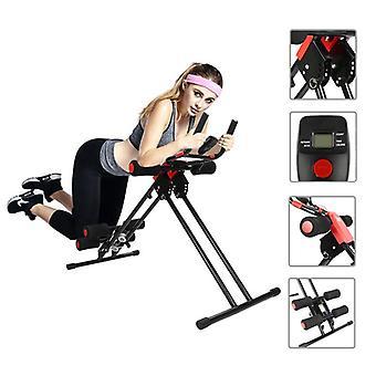 Ab Szybowiec Trainer Rail Cruncher Brzucha Roller Machine Home Energy Gym Deska S Pack Arms Trainer Roller Coaster Ćwiczenia HWC