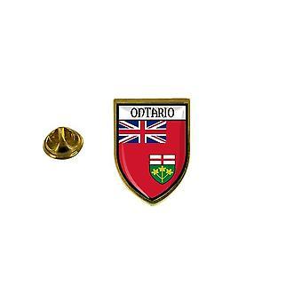 mänty mänty merkki mänty pin-apos;s matkamuisto kaupungin lippu maa vaakuna kanada ontario