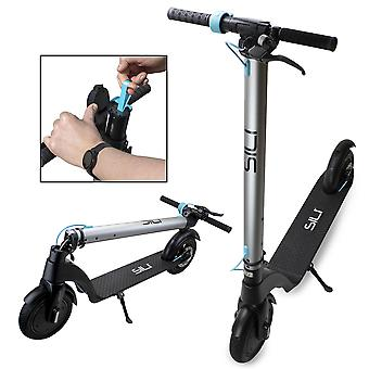 """SILI Ryder - 36V Foldable Electric Scooter with 6.4Ah Panasonic Removable Battery. Powerful 350W 8.5"""" Front Motor, Top Speeds of 30km/h, Full 12 Months Warranty"""