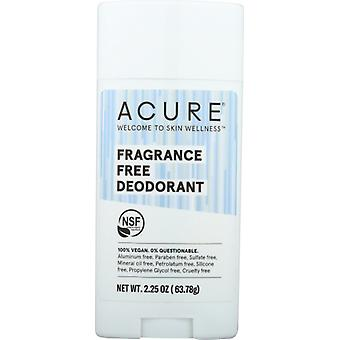 Acure Deodorants Stick, Fragrance Free 2.25 Oz