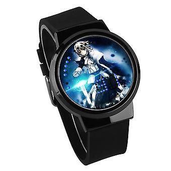 Водонепроницаемые светящиеся светодиодные цифровые сенсорные детские часы - Fate Stay Night #26