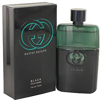 Gucci Guilty Black Eau De Toilette Spray By Gucci 3 oz Eau De Toilette Spray