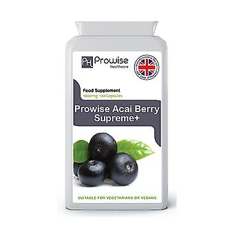 Acai Berry Weight Loss Supplement 1000mg 120 Capsules | Suitable For Vegetarians & Vegans | Made In UK