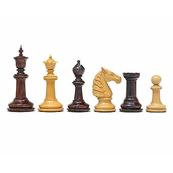 Classic Staunton Rosewood Bath Series Chess Men 4.25 Inches