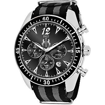 Jivago Men's Timeless Black Dial Watch - JV4511NBK