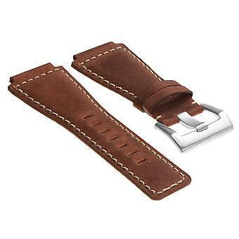 Sanglesco dassari bracelet en cuir vintage pour cloche & ross