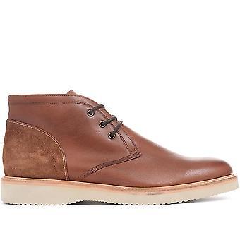 Jones Bootmaker Mens Fraser Leather Chukka Boots