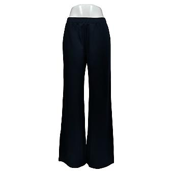 Motto Women's Pants Navy Blue Pull-on Polyester 665-081