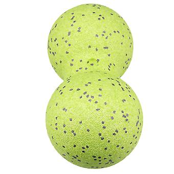 Green 12 CM Massage Double-Ball for Pain Relief,Relieving Muscle Tension