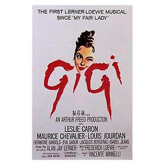 Gigi elokuvan juliste (11 x 17)