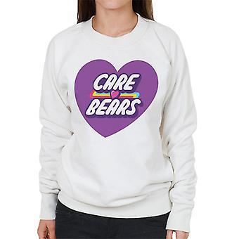 Care Bears Odblokuj bluzę damskie Magic Purple Heart