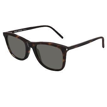 Saint Laurent Sl304 002 50 Classic Havana og grå solbriller