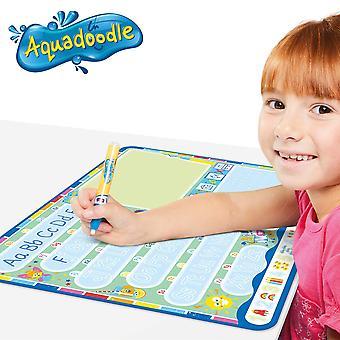 Aquadoodle il mio abc doodle grande doodle d'acqua tappetino, ufficiale tomy no mess colorazione e gioco di disegno, sui