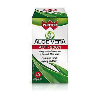 ALOE VERA ACT 200: 1 40 capsules