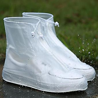 Reutilisable Waterproof Protector Shoes Boot Rain Cover, High-top Anti-slip Shoe
