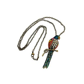 Necklace Parrot Multi-colored
