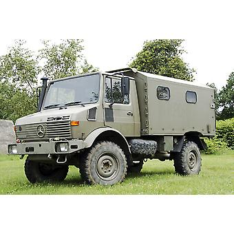 Unimog truck of the Belgian Army Poster Print
