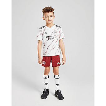 New adidas Boys' Arsenal FC 20/21 Mini Away Kit White/Black