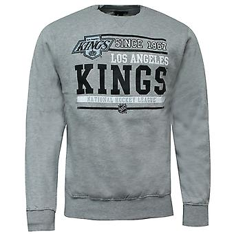 Majestic Team Apparel LA Kings Sweatshirt Los Angeles Hockey Grey A3LAK5204 GRY