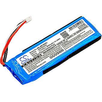 Speaker Battery for JBL GSP872693 P763098 03 Flip 3 JBLFLIP3GRAY 3.7V 3000mAh