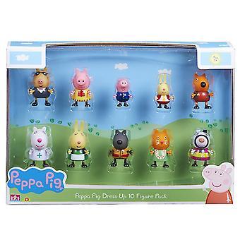 Figuras de vestir de Peppa Pig (paquete de 10)