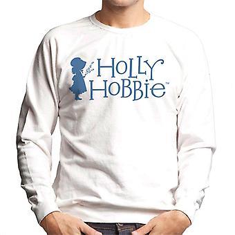 Holly Hobbie Silhouette und Logo Männer's Sweatshirt