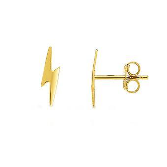 14 k geel gouden verlichting vet Stud Earrings Stud Earrings