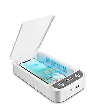 Uv Light Sterilizer Box  (white)