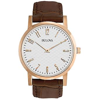 Mens Watch Bulova 97A106, Kvarts, 38mm, 3ATM