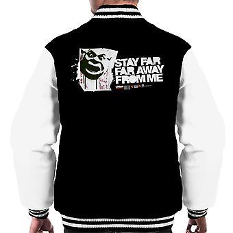 Shrek Stay Far Far Away From Me Men's Varsity Jacket