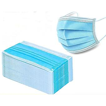 Disposable Face Mouth Three Layers Anti-dust Safe Breathable Mouth Mask