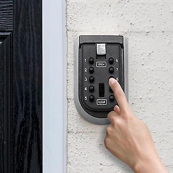 Boîte extérieure intérieure de serrure de clé, mur monté, coffre-fort en alliage d'aluminium, imperméable aux intempéries