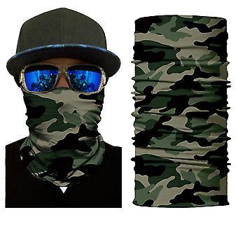 3d Skull Skeleton Balaclava Seamless Face Shield Mask Scarf Outdoor Anti-uv