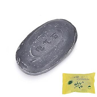 Tourmaline Soap Bamboo Active Energy Soap Charcoal Concentrated Soap For Ance