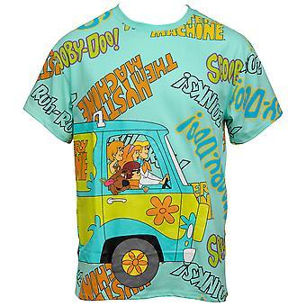 Cartoon Network Scooby Doo Mystery Machine T-Shirt