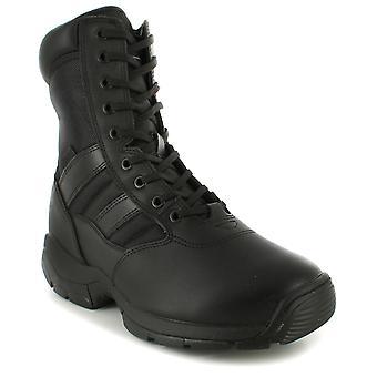 Mens Black En347 Breathable Police Boots UK Size