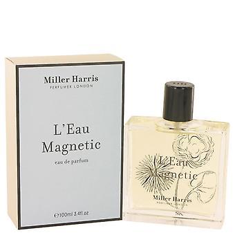 L'eau Magnetic Eau De Parfum Spray By Miller Harris 3.4 oz Eau De Parfum Spray