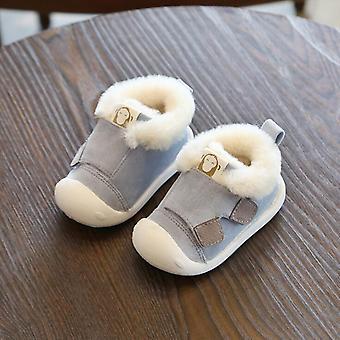 الشتاء الرضع طفل دافئ أفخم أحذية الثلج الطفل