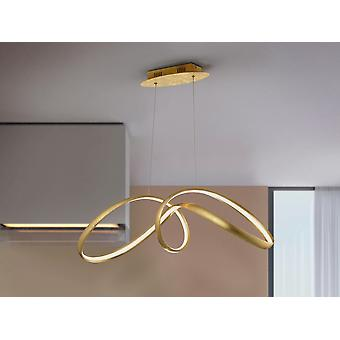 Schuller Lia - Integreret LED Pendel Light, Gold Leaf