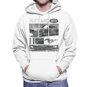 Ford Mustang Fastback Men's Hooded Sweatshirt