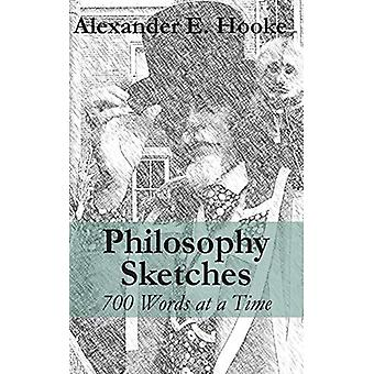 Philosophy Sketches - 700 Words at a Time by Alexander E Hooke - 97816