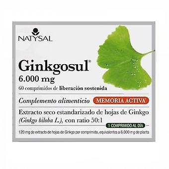 Natysal Ginkgosul 60 Capsules