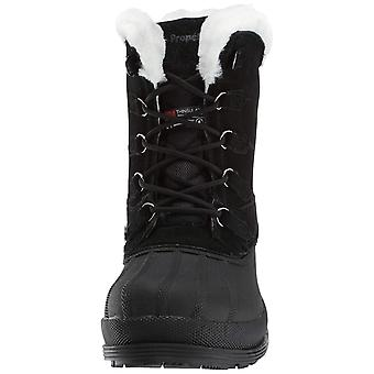 Propét Womens Lumi Closed Toe Ankle Clog Boots